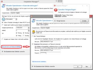 Fehler 0x200000c, Benutzer und Passwort eintragen