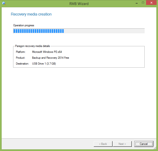 how to create a recovery media for windows 7