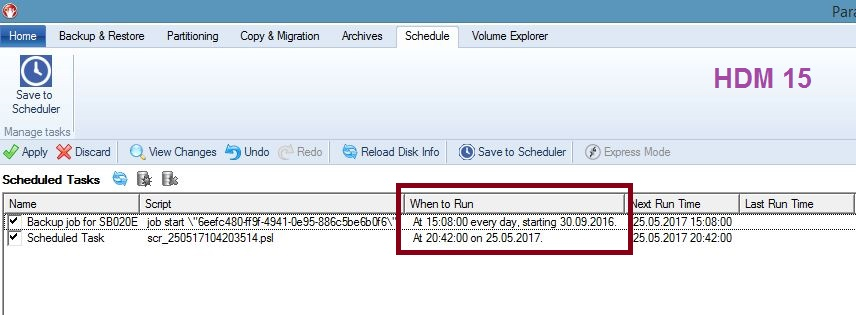 Scheduled Backup Troubleshooting For HDM 15/ Backup And Recovery 16