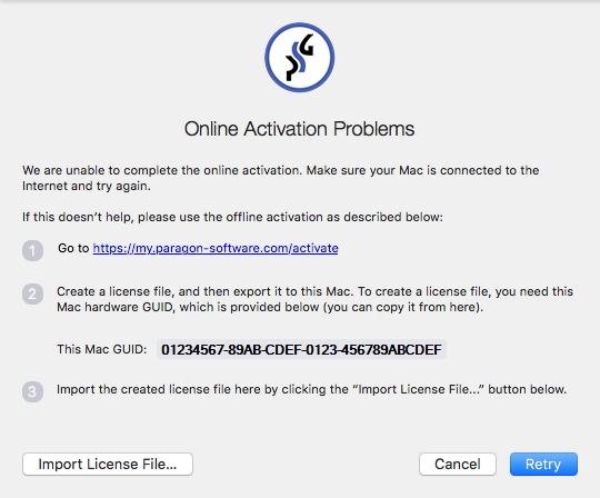 Offline Activation Of NTFS For Mac 14 › Knowledge Base