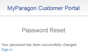 """forgot password"", success"