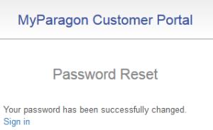 """forgot password"", success"