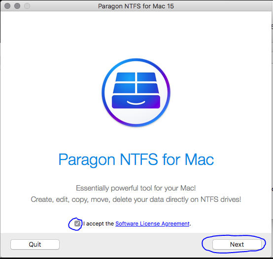 How To Install Microsoft NTFS For Mac By Paragon Software